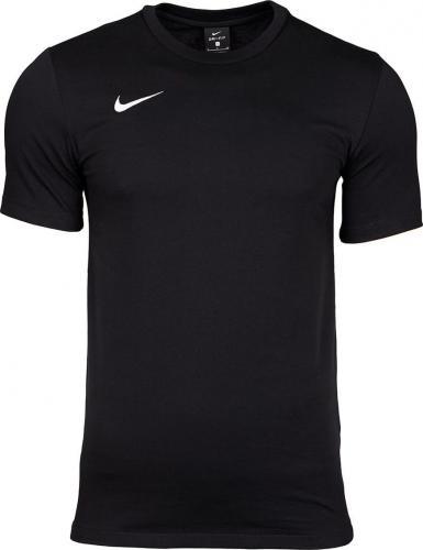 Nike Koszulka dziecięca Tee Team Club 19 czarna r. 158-170cm (AJ1548 010)