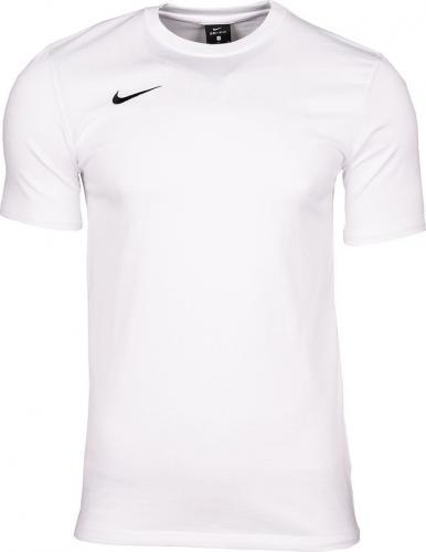 Nike Koszulka dziecięca Tee Team Club 19 biała r. 122-128cm (AJ1548 100)