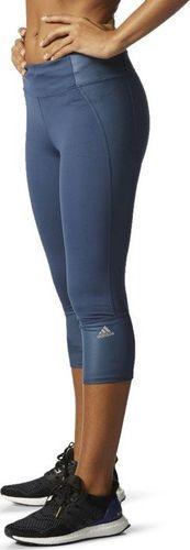 Adidas Legginsy damskie Sn 3/4 Tight niebieskie r. XXS (AI8259)