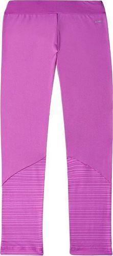 Adidas Legginsy dziecięce Yg W F Tight różowe r. 164 (S21649)