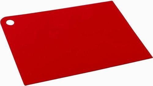 Plast Team Plast Team Cieńka Deska Do Krojenia Czerwona 1112