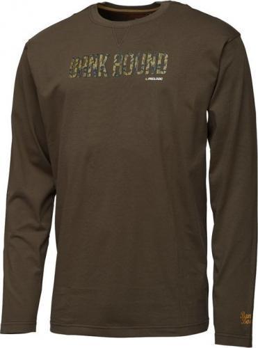 Prologic Bank Bound Camo T-shirt Long Sleeve M (57267)