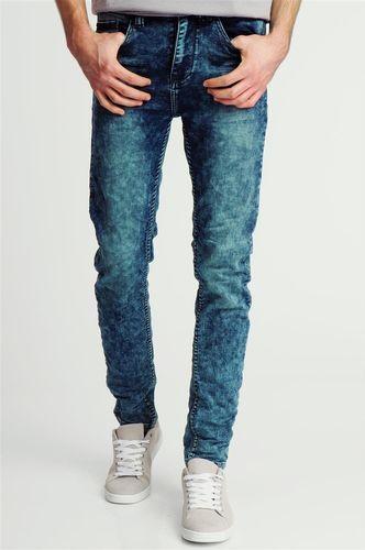 98-86 Spodnie męskie jeansowe niebieskie 98-86 36/34