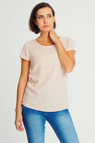 Fresh Made Bluzka damska z wycięciem na plecach różowa Fresh Made S