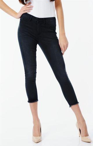 Sublevel Spodnie przed kostkę jeansowe Sublevel XS