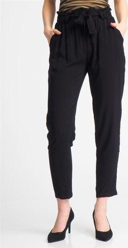 Fresh Made Spodnie materiałowe damskie papperbag czarne Fresh Made S