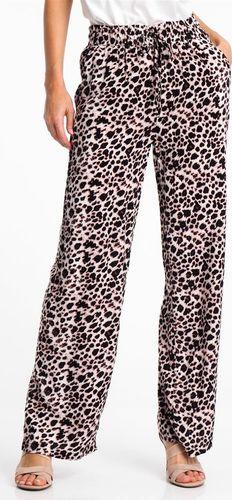 Haily`s Spodnie materiałowe damskie w cętki brązowe Haily's XS