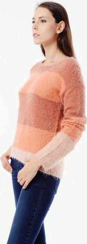 EMOI Sweter damski pomarańczowy Emoi by Emonite L