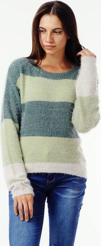 EMOI Sweter damski zielony Emoi by Emonite L
