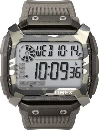 Zegarek Timex Zegarek Timex TW5M18300 Command Shock Camouflage uniwersalny