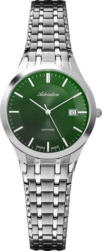 Zegarek Adriatica Zegarek Adriatica A3136.5110Q Klasyczny Szafirowe szkło uniwersalny