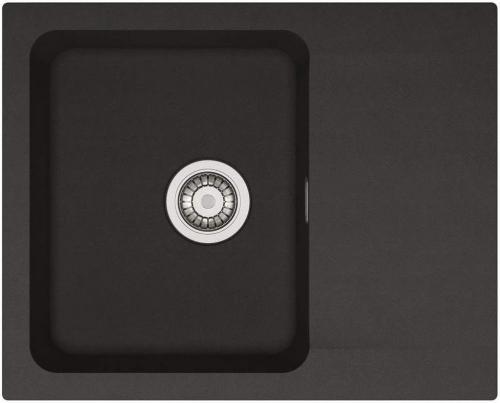 Franke Zlewozmywak 1-komorowy OID 611 bez ociekacza 62 x 50cm onyx (114.0286.441)