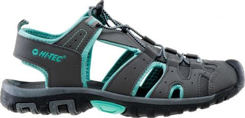 Hi-tec Sandały damskie Merito Mid grey/Turquoise r. 38