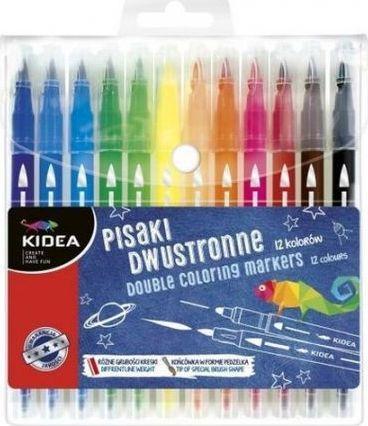 Derform Pisaki dwustronne 12 kolorów