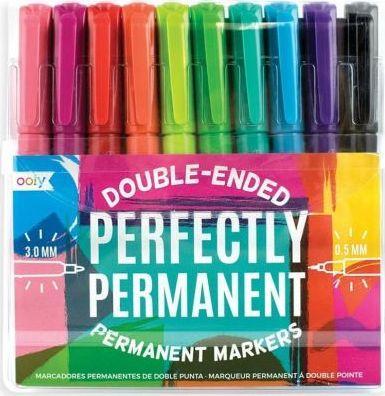 Kolorowe Baloniki Flamastry trwałe Perfectly permanent 10 kolorów