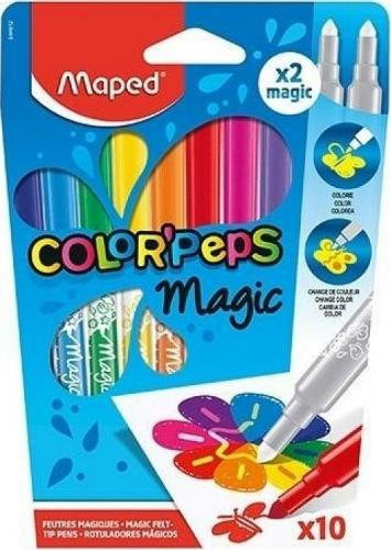 Maped Flamastry Colorpeps Magic 8+2