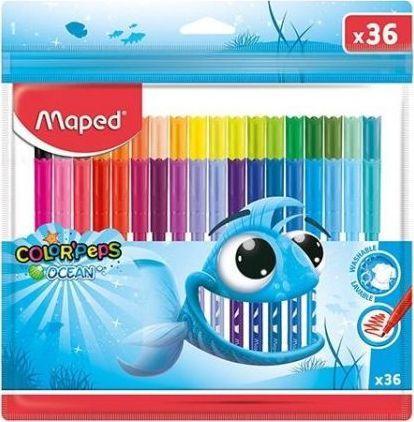 Maped Flamastry Colorpeps Ocean 36 kolorów