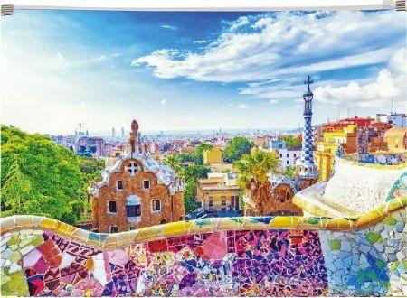 Panta Plast Koperta z nadrukiem zip A4 PP Barcelona