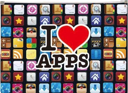 Panta Plast Koperta z nadrukiem zip A4 PP Apps