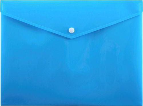 Penmate Koperta na zatrzask A4 PP-113 niebieska PENMATE