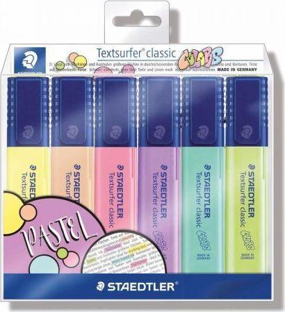 Staedtler Zakreślacz Classic Colors 6 kolorów