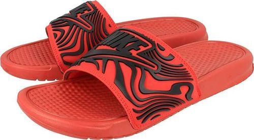 Nike Klapki męskie Benassi Just Do It pomarańczowe r. 46 (AJ6745-601)