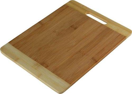Household Deska do krojenia bambusowa 25,5x20x1 cm uniwersalny