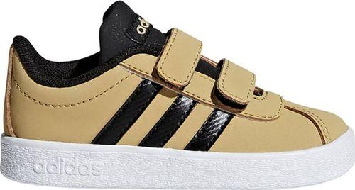 Adidas Buty dziecięce Vl Court 2.0 Cmf żółte r. 27 (F36407)