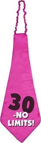 Party Deco Krawat na trzydzieste urodziny, 30- No Limits!, zielony uniwersalny