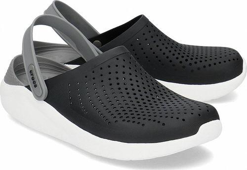 Crocs Crocs Literide Clog - Klapki Męskie - 204592 BLACK/SMOKE 45/46