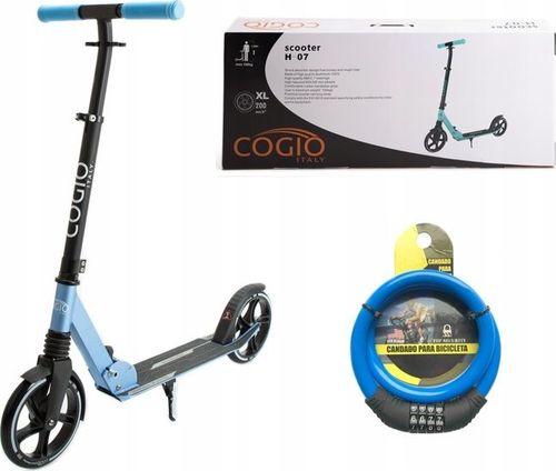 Cogio Kids Italy MIEJSKA HULAJNOGA COGIO ITALY AMORTYZATOR H7 BLUE uniwersalny