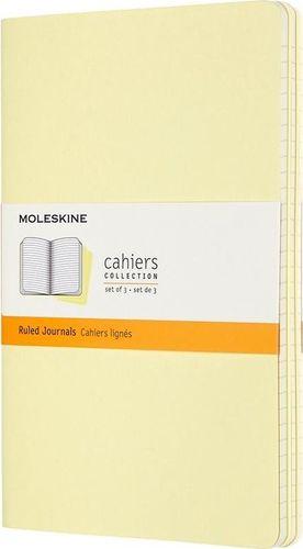 MOLESKINE Zestaw 3 zeszytów Cahier Journals 13x21 linie
