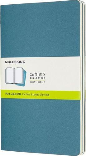 MOLESKINE Zestaw 3 zeszytów Cahier Journals 13x21 gładki