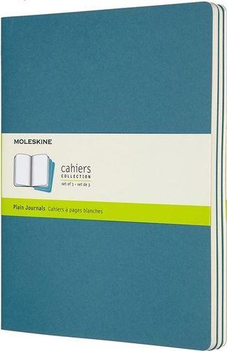 MOLESKINE Zestaw 3 zeszytów Cahier Journals 19x25 gładki