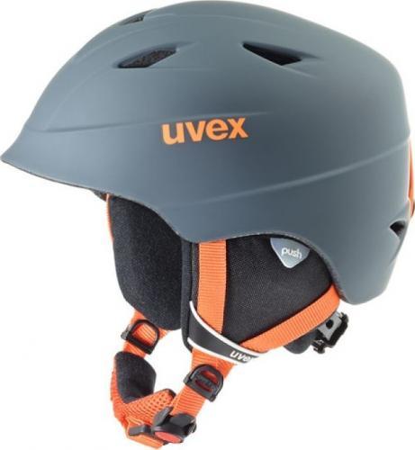 UVEX Kask dziecięcy Airwing Pro 2 Titanium Orange r. 52-54cm