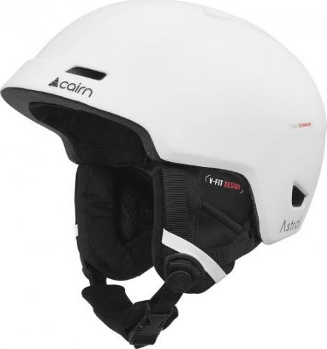 CAIRN Kask Astral biały r. 55/56