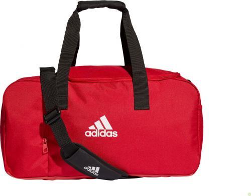Adidas Torba sportowa Tiro Duffel 43L czerwona (DU1985)