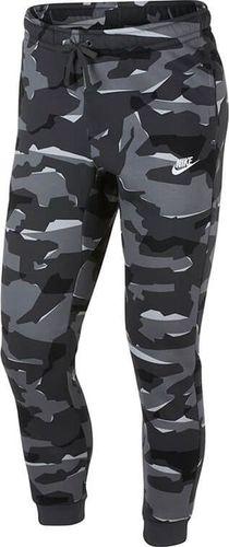 Nike Spodnie męskie NSW Club Camo szare r. M (AJ2111-065)