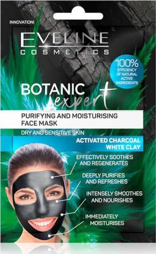 Eveline Maseczka do twarzy Botanic Expert nawilżająco-oczyszczająca 2x5ml