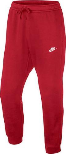 Nike Spodnie męskie NSW Club Jogger czerwone r. L (804408-657)