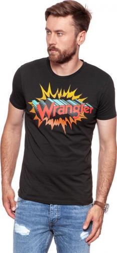 Wrangler Koszulka męska Graphic Hero Tee Jet Set r. M (W7B78FKOJ)