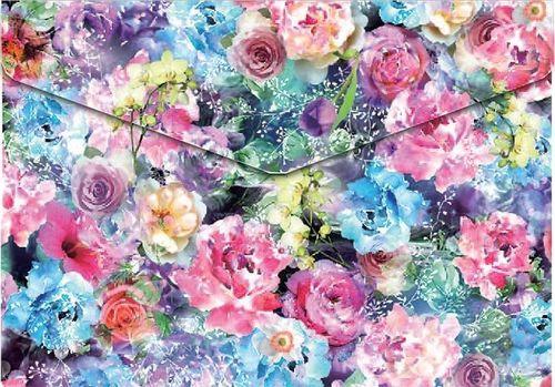 Panta Plast Koperta A5 na napę z nadrukiem Roses