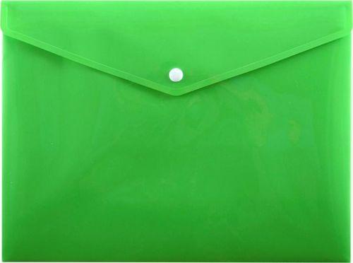 Penmate Koperta na zatrzask A5 PP-114 zielona PENMATE
