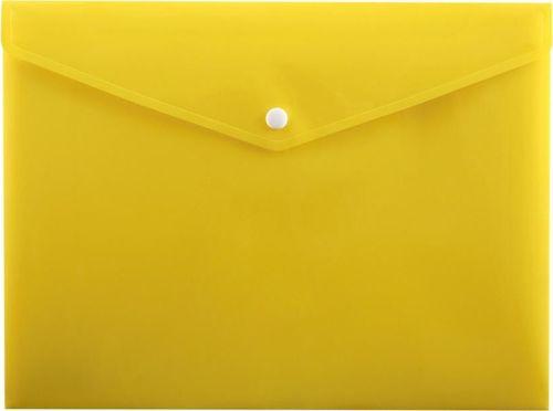 Penmate Koperta na zatrzask A4 PP-113 żółta PENMATE