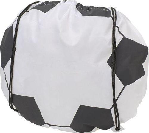 Kemer Plecak w kształcie piłki nożnej KEMER Biało-Czarny uniwersalny