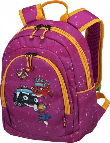 TRAVELITE Plecak dziecięcy TRAVELITE BOHATEROWIE MIASTA 81686-17 Różowy uniwersalny