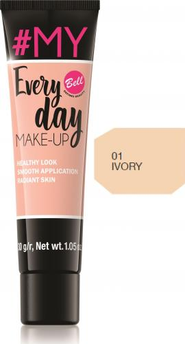 BELL #My Everyday Make-Up 01 Ivory 30g