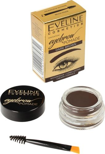 Eveline Eveline Eyebrow Pomade Pomada do brwi Dark Brown  1szt