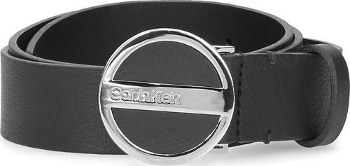 Calvin Klein Calvin Klein 3cm Round Buckle - Pasek Damski - K60K605164 001 85