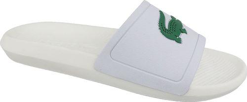 Lacoste Klapki męskie Croco Slide białe r. 42 (737CMA0018082)